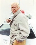 George Kennedy Brown Coat Photo by  Movie Star News