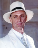 Keith Carradine Posed in White Suit Photo by  Movie Star News