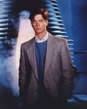 Eric Stoltz Posed in Glittering Grasy Suit Portrait Photo by  Movie Star News