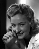 Bonita Granville With Hands-Crossed Leaning Face Portrait Photo by  Movie Star News