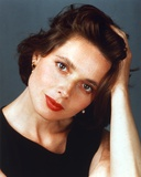 Isabella Rossellini in a Black Sleeveless Blouse Photo by  Movie Star News
