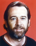 George Carlin Close Up Portrait Photo by  Movie Star News