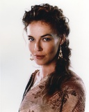 Connie Nielsen in Brown Dress with White Background Photo by  Movie Star News