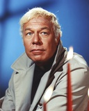 George Kennedy Posed with Popped Out Collar Photo by  Movie Star News