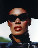 Grace Jones Close Up Portrait Photo by  Movie Star News