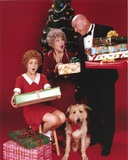 Andrea McArdle Giving Gift Photo by  Movie Star News