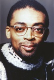 Spike Lee smiling in Close Up Portrait with Eyeglasses Photo by  Movie Star News
