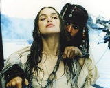 Keira Knightley Scene from the Movie Pirates of the Caribbean Foto av  Movie Star News