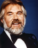 Kenny Rogers in Tuxedo Close Up Portrait Photo by  Movie Star News