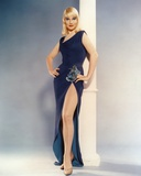 May Britt standing in Black Dress Photo by  Movie Star News