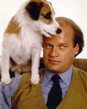 Kelsey Grammer Posed in a Suit and Tie with a Dog Photo by  Movie Star News