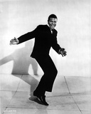 Chubby Checker Posed in Black Suit Photo by  Movie Star News