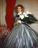 Deborah Kerr in Ballon Skirt with Flower Photo by  Movie Star News