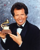 Garry Shandling in Black Coat With Award Portrait Photo by  Movie Star News