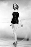 Virginia Mayo Posed in Slim Fit Dress Photo by  Movie Star News