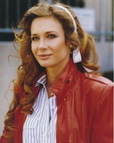 Mary Crosby Portrait in Red Jacket Photo by  Movie Star News