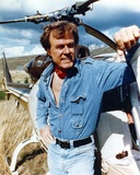 Robert Culp Posed in Blue Denim Jacket Photo by  Movie Star News