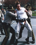 Chris Klein Being Captured by Police Photo by  Movie Star News