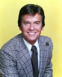 Dick Clark Portrait in Yellow Background Photo by  Movie Star News