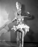 Ann Jeffreys Holding a Sword Photo by  Movie Star News
