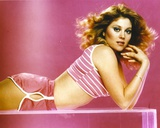 Portrait of Audrey Landers posed in Pink Sports Attire Photo by  Movie Star News