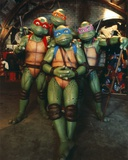 Ninja Turtles Group Picture Photo by  Movie Star News