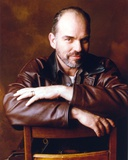 Billy Thorton Leaning on Chair in Brown Leather Jacket Portrait Photo by  Movie Star News