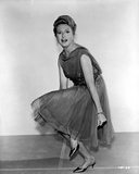 Deborah Kerr on a Dress and Bending Knees Photo by  Movie Star News