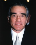 Martin Scorsese Close-up Portrait wearing Black Suit with Silver Tie Photo af  Movie Star News