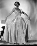 Irene Castle standing and Posed in Gown Photo by  Movie Star News
