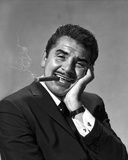 Ernie Kovacs in Black Suit With Cigarette Photo by  Movie Star News