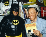 Bob Kane with Batman Costume Photo by  Movie Star News