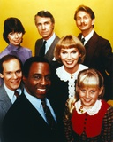 Robert Guillaume Portrait with Friends in Yellow Background Photo by  Movie Star News