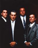 Along with Robert Deniro Black Background Group Picture Photo by  Movie Star News
