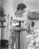 Quo Vadis Kissing Scene in Black and White Photo by  Movie Star News