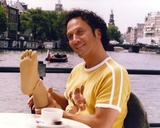 Rob Schneider in Yellow Shirt Portrait Photo by  Movie Star News
