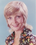 Florence Henderson Happy in Floral Dress Photo by  Movie Star News