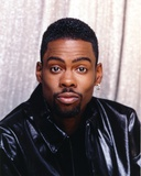 Chris Rock in Leather Jacket Close Up Portrait Photo by  Movie Star News