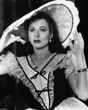 Hedy Lamarr wearing a Big Hat Photo by  Movie Star News