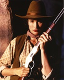 Andie MacDowell Posed in Cowgirl Outfit with Shotgun Photo by  Movie Star News