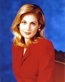 Kelly Rutherford in Red Formal Outfit Portrait Photo by  Movie Star News