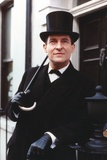 Jeremy Brett in Tuxedo with Hat Photo by  Movie Star News