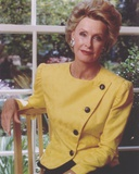 Dina Merrill Posed in Yellow Dress Photo by  Movie Star News