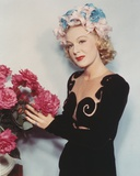 Betty Hutton Posed in Black Dress Photo by  Movie Star News