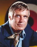 George Peppard Close Up Portrait Photo af Movie Star News