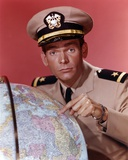 Dean Jones Portrait in Army Uniform Pointing the Globe Photo by  Movie Star News