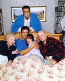Group Picture With Ray Romano on Bed Photo by  Movie Star News