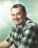 Ernest Borgnine Posed in Checkered Polo Photo by  Movie Star News