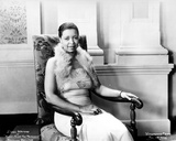 Ethel Waters Seated in Leopard Dress Photo by  Movie Star News