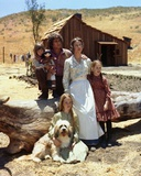 Little House On The Prairie Cast in Group Picture with Blue Background Photo by  Movie Star News